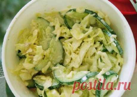 (5) Легкий салатик - пошаговый рецепт с фото. Автор рецепта оксана мишина . - Cookpad