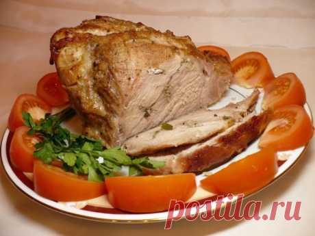 Буженина – как приготовить по-настоящему сочное мясо.Обалденный рецепт!!!