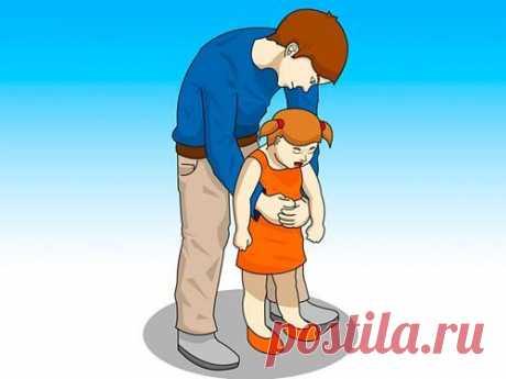 Что делать, если ребенок подавился и задыхается на ваших глазах? / Малютка