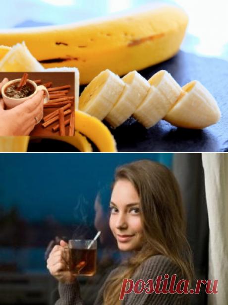 Лечение бессонницы банановым чаем