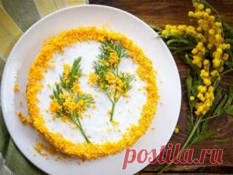 Салат «Мимоза» с рыбными консервами — 5 вариантов приготовления   Вкусные рецепты