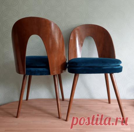 Эти стулья на Западе покупают за 1 тыс.долларов, а кто-то выбросил их на мусорку. Взяла и отреставрировала | Вещь | Яндекс Дзен