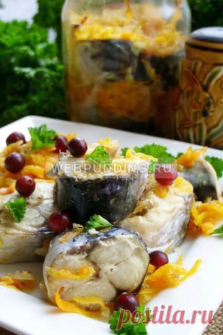 Скумбрия в банке в духовке - старый и надежный способ приготовления рыбы в собственном соку
