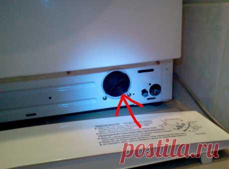 Чистим фильтр стиральной машины — Полезные советы