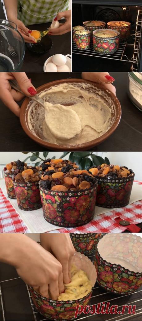 Очень подробный рецепт самых вкусных куличей к Пасхе! Всё выверено и отмерено поколениями...