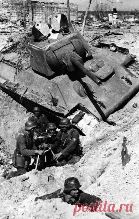 Письма немцев из Сталинграда: «Никого еще не видел злее русских солдат»