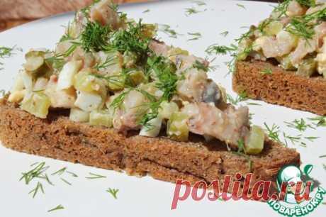 Рубленая сельдь по-баварски – кулинарный рецепт