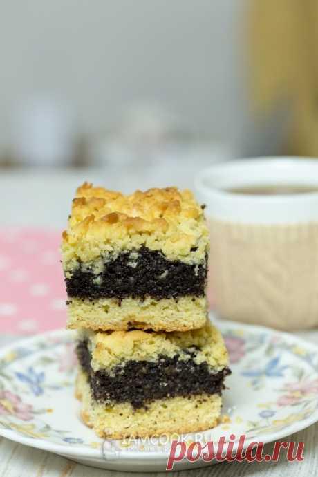 Песочный пирог с маком — рецепт с фото на Русском, шаг за шагом. Вкусный и сочный маковый пирог не оставит вас равнодушными.