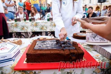 Одесский торт «Фонтан». Рецепт | Блог Савелия Либкина
