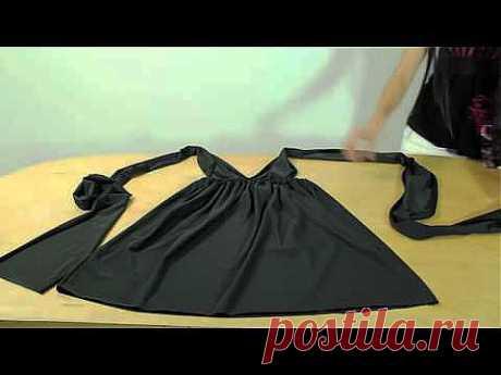 Шьём греческое платье трансформер - YouTube