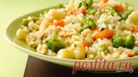 Овощное ризотто - пошаговый рецепт с фото на Повар.ру