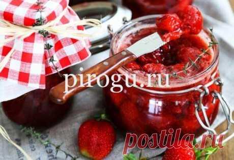 Варенье из клубники с пектином на зиму густое с целыми ягодами