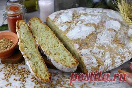 Домашний луковый хлеб: никто не верит, что я его пеку сама (хрустящая корочка и воздушная серединка). А аромат невероятный! | ПРО красивости: косметика, кухня | Яндекс Дзен