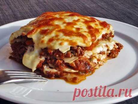(757) Домашняя лазанья - пошаговый рецепт с фото - домашняя лазанья - как готовить: ингредиенты, состав, время приготовления - Леди@Mail.Ru