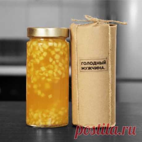 Имбирное варенье -мармелад-желе — Кулинарная книга