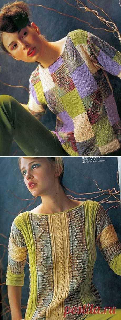 Два красочных пуловера Это цитата сообщения Аля-М.