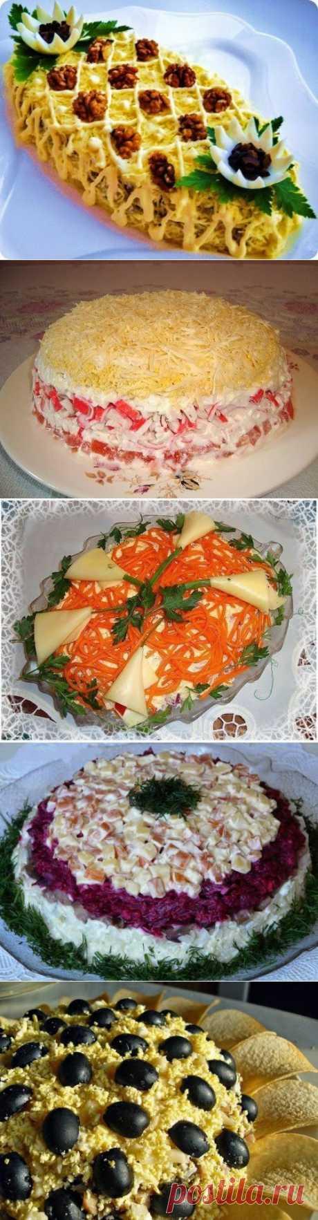 Лучшие кулинарные рецепты: Салаты