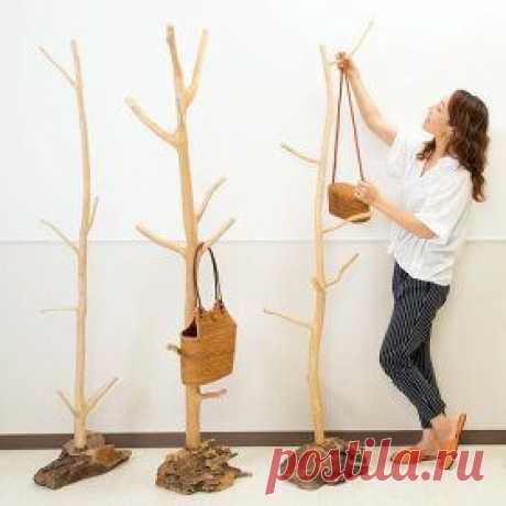 Деревья - вешалки (подборка)