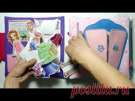 #КнигаДом с большим набором одежды для Тонечки #5лет (#Оренбург #Оренбургскаяобласть ) #кукольныйдом
