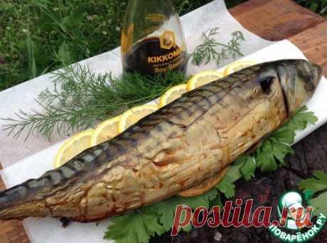 Рыба горячего копчения в походных условиях - кулинарный рецепт