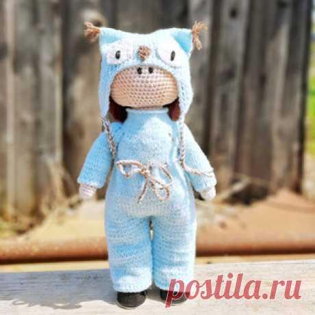 Куколка амигуруми. Схемы и описания для вязания