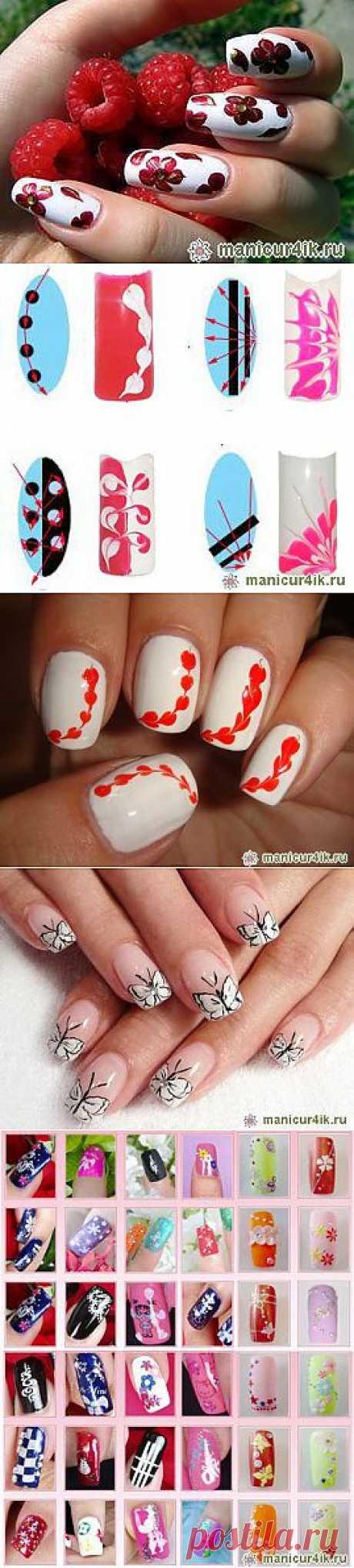 Простой дизайн ногтей (фото) | Маникюр4ик.ру - 2013