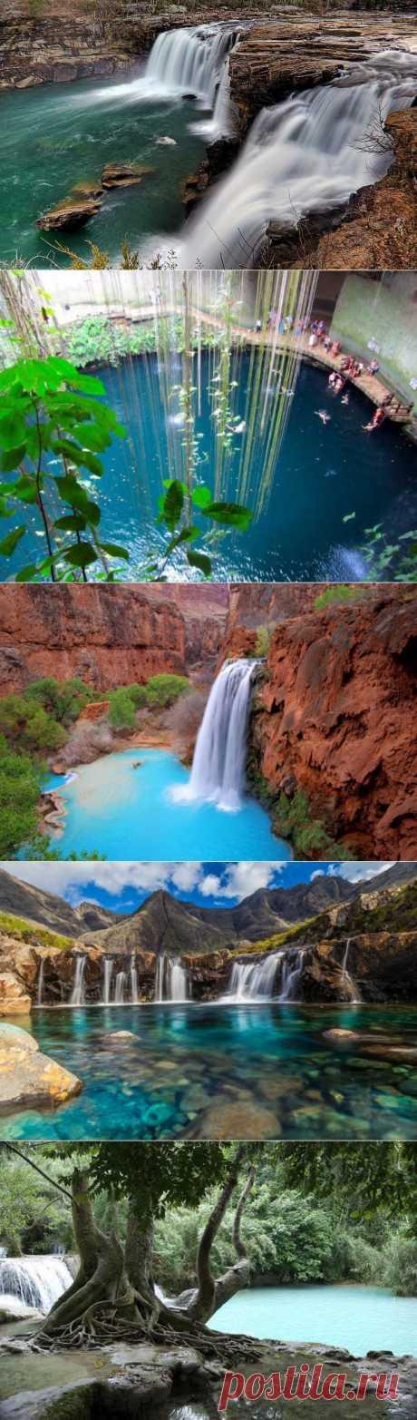 Самые красивые природные бассейны мира / Всё самое лучшее из интернета