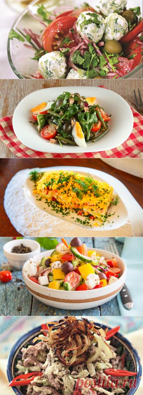 Праздничные салаты (12 рецептов)
