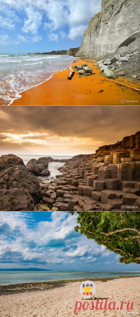 Самые причудливые пляжи мира — Вокруг Мира