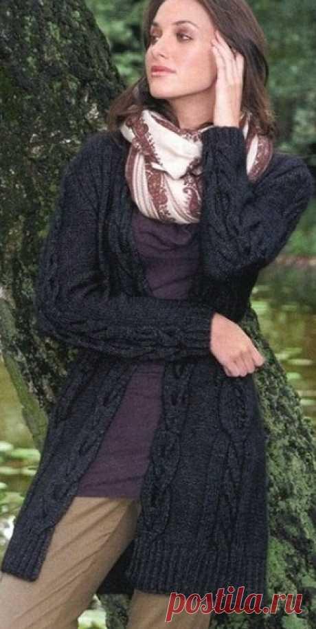 Жакет спицами - запись пользователя Marmeladka (Модератор) в сообществе Вязание спицами в категории Вязание для женщин спицами. Схемы вязания спицами