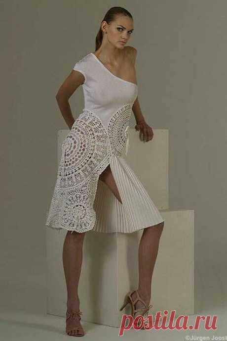 Может ли вязаное платье быть вечерним? Смотрим подборку и делаем выводы | Hand made по жизни | Яндекс Дзен