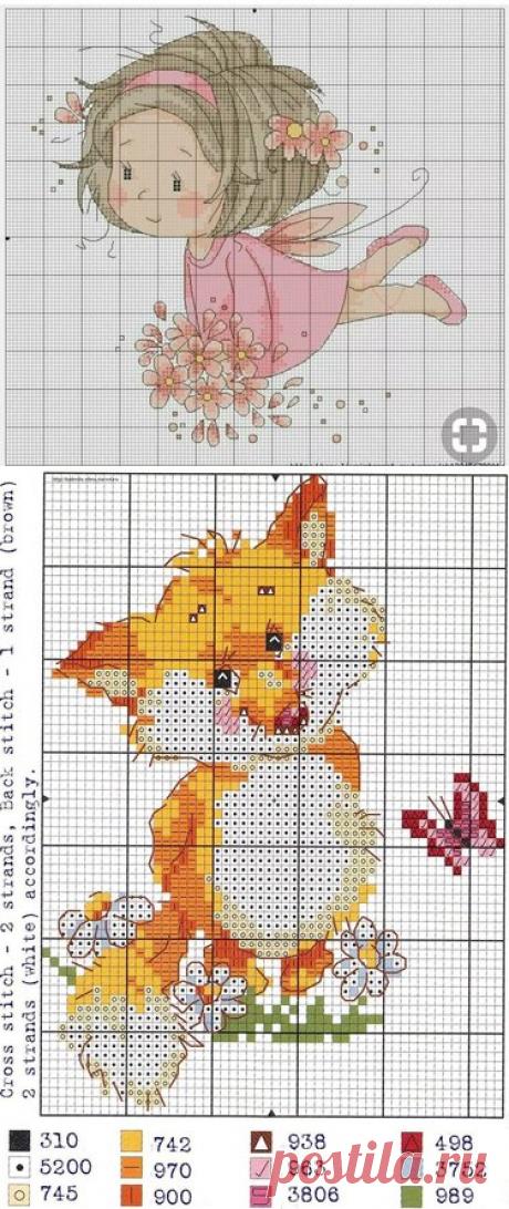306 карточек в коллекции «Схемы вышивки крестиком» пользователя Анна Андреева в Яндекс.Коллекциях