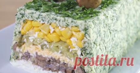 Салат на праздник — просто потрясающе красивый