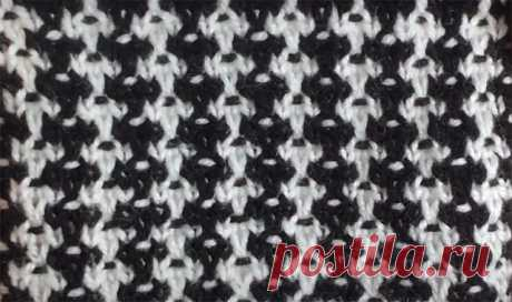 """Узор """"Крапчатый твид"""" (Вязание спицами) – Журнал Вдохновение Рукодельницы"""