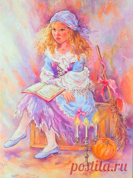 Кристина Хаворст (Christine Haworth).Английская художница.