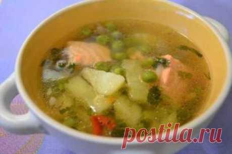 Рыбный суп с зеленым горошком — Кулинарная книга - рецепты с фото