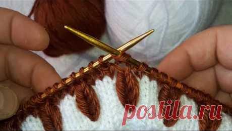 Bu model harika buğday başağı süper kolay kazak,yelek, süveter,şapka modeli