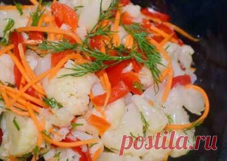 Вкуснейшая маринованная цветная капуста &#128154 - пошаговый рецепт с фото. Автор рецепта Ирина . - Cookpad