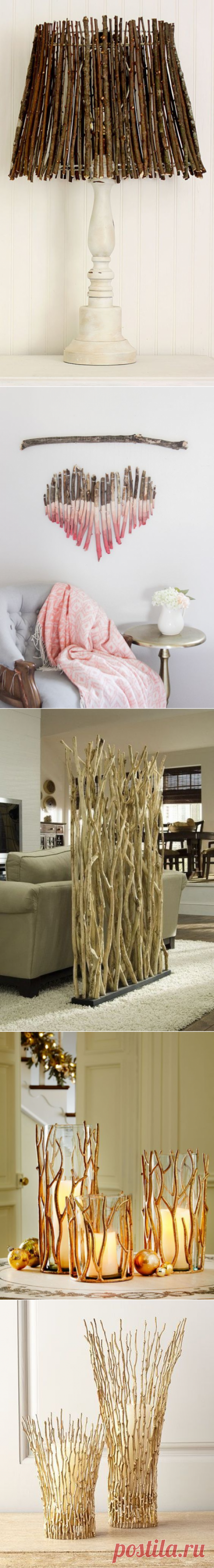 Amazing DIY crafts from branches for any occasion | My desired home