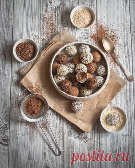 Полезные конфеты из сухофруктов и орехов