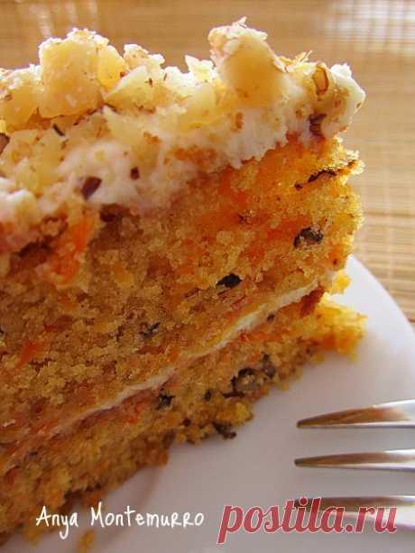 Самый вкусный морковный торт который мы ели