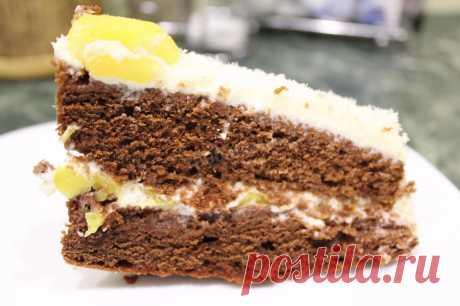 Сырно сливочный торт рецепт с фото пошагово - 1000.menu