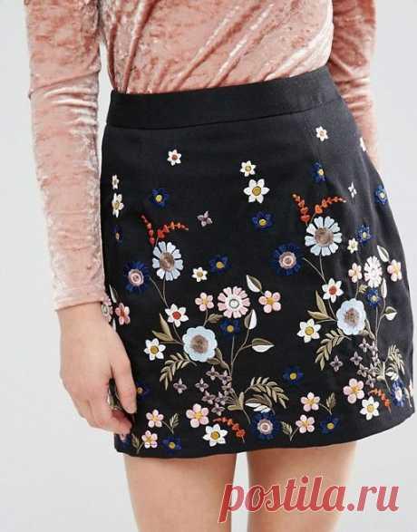Вышитые юбки: как произведение искусства — Сделай сам, идеи для творчества - DIY Ideas