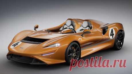 Спайдер McLaren Elva M6A Theme by MSO выделился ливреей В этом месяце это уже второе историческое издание. Первое, Elva M1A Theme by MSO, тоже отличается от «обычного» родстера только раскраской и нюансами