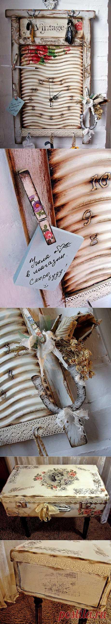 """Винтажный декупаж и декор от Ирины, блог """"Птичка певчая""""."""