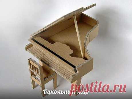 Рояль из картона