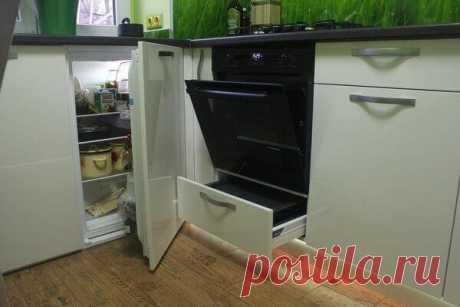 Сделали полноценный холодильник вместо хрущевского