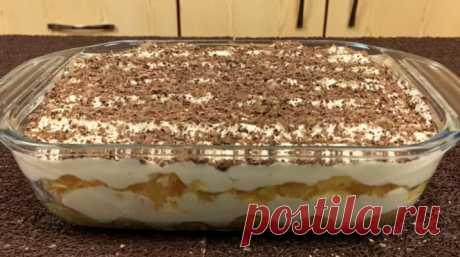 """La torta de \""""Tiramisu\"""" con las naranjas: la receta rápida y fácil"""