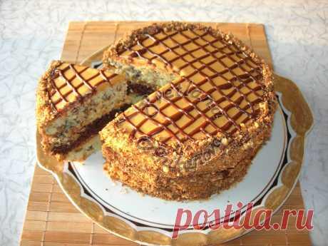 Домашний ТОРТ «ВИТЯЗЬ» очень ВКУСНЫЙ и НЕСЛОЖНЫЙ в приготовлении Предлагаю Вашему вниманию рецепт торта «Витязь», по внешнему виду он немного напоминает торт «Желанные встречи», но по составу ингредиентов это разные торты. Торт получается очень вкусным и самое глав…