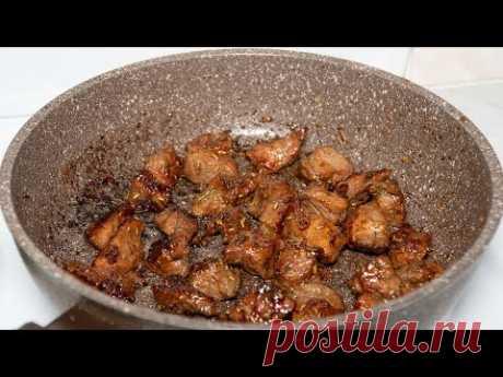 Говядина в меду и соевом соусе, нежный и вкусный маринад